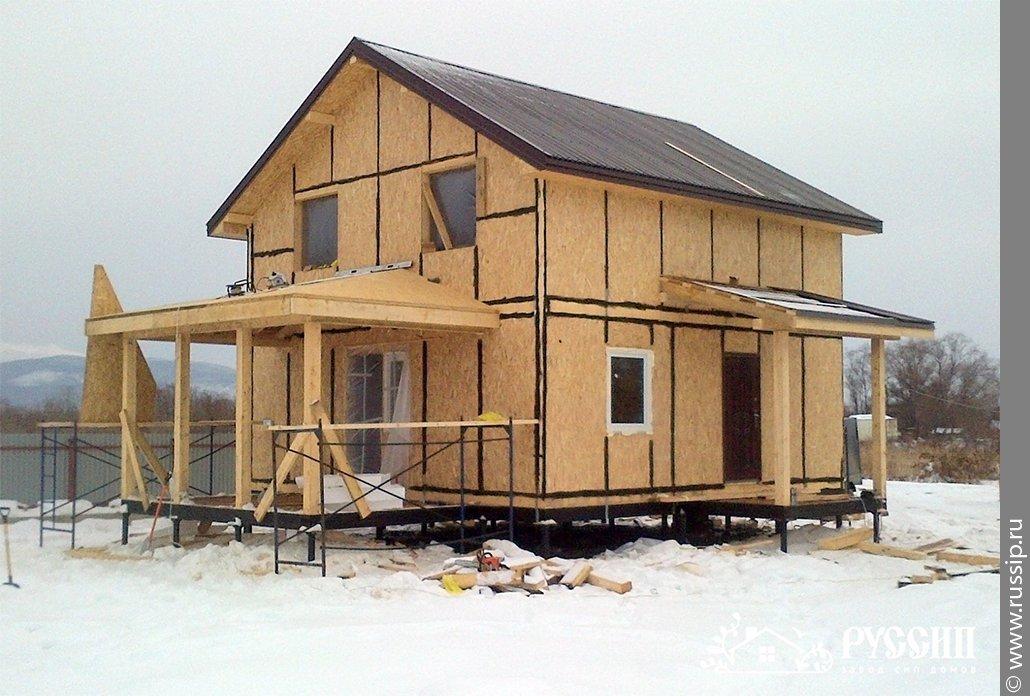 Цены каркасные южно-сахалинск панелей дома дома с